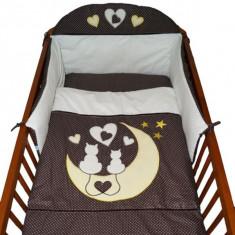 Set Lenjerie de pat pentru copii-Ty i My My Kitten 3 piese LPTMK3-MA - Lenjerie pat copii