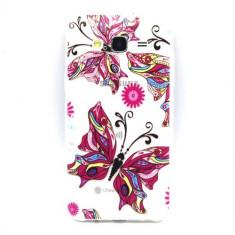 Husa Ultra-Slim Samsung Galaxy J5 2015 Gel TPU Butterfly Design - Husa Telefon Nokia