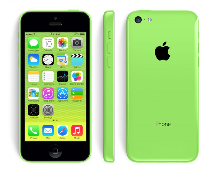 IPhone 5C 16GB Green/GARANTIE 1 AN/Reinnoit/Renewed by Grade ZERO foto mare