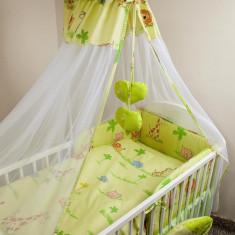 Set Lenjerie de pat pentru copii Ankras Zoo 2 piese LPAZ21-V - Lenjerie pat copii