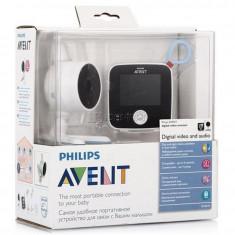 Sistem de monitorizare video-audio digital-PHILIPS AVENT SCD610 - Baby monitor