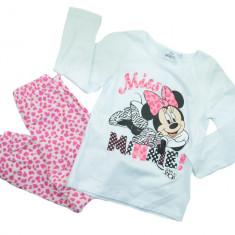 Pijama pentru fetite Minnie Mouse-Sun City EP2034A, Alb