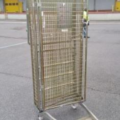 Carucioare pentru transport marfa- roll containere - roll cage