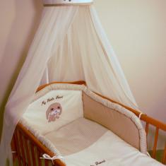 Set Lenjerie de pat pentru copii Ankras My little friend 4 piese - Lenjerie pat copii