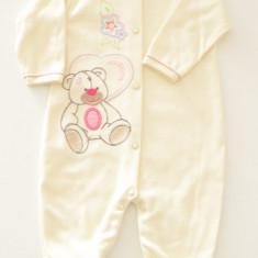 Salopeta pentru bebelusi BOBAS Teddy Bear Girl