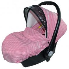 Scoica Auto BabyActive Carlo (0-10 Kg) SCBA10R, Roz - Scaun auto copii