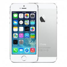 iPhone 5S Apple 16GB Silver GARANTIE 1 AN Reinnoit de Grade ZERO, Argintiu, Neblocat