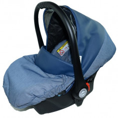 Scoica Auto BabyActive Carlo (0-10 Kg) SCBA8A, Albastru - Scaun auto copii