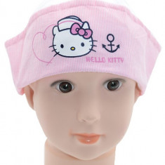 Caciula pentru fetite Hello Kitty-Sun City OE4058A, Roz