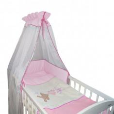 Set Lenjerie de pat pentru copii-Ty i My Best Dreams 2 piese LPTMMBD2-R - Lenjerie pat copii