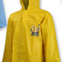 Pelerina de ploaie pentru baieti Minions-Setino 750-052G, Galben - Pelerina ploaie