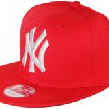 Sapca Baseball New York Yankees Rosie - Sepci Rap, Sepci Snapback - Sapca Barbati, Marime: Marime universala, Culoare: Rosu
