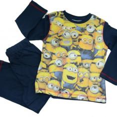 Pijama pentru baieti Minions-DISNEY HO2160, Bleumarin