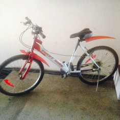 BICICLETA - Mountain Bike First Bike, 16.5 inch, 16 inch, Numar viteze: 18