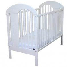 Patut din lemn cu parte laterala culisanta pentru copii Jardrew Tymon PJT-2A - Patut lemn pentru bebelusi
