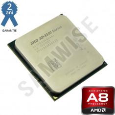 Procesor AMD Trinity, Vision A8 5500 3.2GHz (Turbo 3.7GHz) Quad Core, HD 7560D - Procesor PC AMD, AMD A8, Numar nuclee: 4, Peste 3.0 GHz, FM2