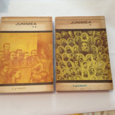 JUNIMEA - AMINTIRI, STUDII, SCRISORI, DOCUMENTE 2 volume, R12 - Roman