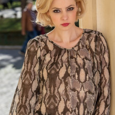Bluza din voal - Femei - Fusta