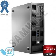 Calculator HP Elitedesk 705 GS SFF, AMD PRO A10 8750B 3.6GHz, 4GB, DVD-ROM - Sisteme desktop fara monitor HP, AMD Quad, Peste 3000 Mhz, 500-999 GB, FM2+