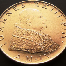 Moneda 50 Lire - VATICAN, anul 1962 *cod 231 a.UNC*, Europa