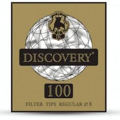 Filtre Discovery regular (8 mm) pentru tigari/tutun ! 100 buc. /pachet - Filtru tutun