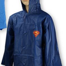 Pelerina de ploaie pentru baieti Super Man-Setino 750-078B, Bleumarin - Pelerina ploaie