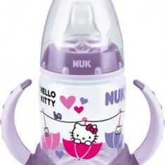 Biberon Nuk First Choice Hello Kitty 6-18 luni 150 ml 743619-M, Mov