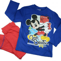 Pijama pentru baieti Mickey Mouse-Sun City PH2247, Albastru