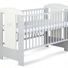 Patut din lemn pentru copii Klups Nati PKN-1G - Patut lemn pentru bebelusi