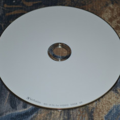 Disc Blu Ray 50 GB BD-R (DL) Verbatim 1-4x - Printabil, Made In Japan - Blu-Ray Blank