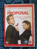 THE PROPOSAL (1 DVD ORIGINAL, FILM COMEDIE cu SANDRA BULLOCK - CA NOU!!!)