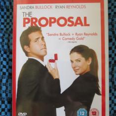 THE PROPOSAL (1 DVD ORIGINAL, FILM COMEDIE cu SANDRA BULLOCK - CA NOU!!!), Engleza