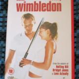 WIMBLEDON (1 DVD ORIGINAL, FILM COMEDIE ROMANTICA cu KIRSTEN DUNST - CA NOU!!!)