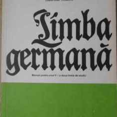 Limba Germana Manual Pentru Anul V - Ida Alexandrescu, Christiane Cosmatu, Ioan Gabriel,398741