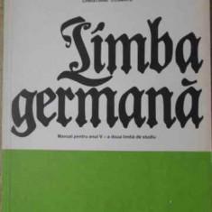 Limba Germana Manual Pentru Anul V - Ida Alexandrescu, Christiane Cosmatu, Ioan Gabriel, 398741 - Carte in germana