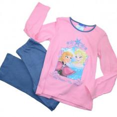 Pijama pentru fetite Frozen-DISNEY HO2170R, Roz