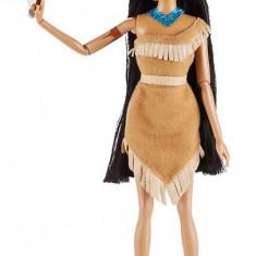 Papusa Printesa Disney Pocahontas cu animal de companie