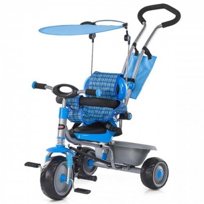 Tricicleta Criss Cross Blue Chipolino foto mare