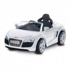 Masinuta electrica Audi R8 Spyder White Biemme - Masinuta electrica copii