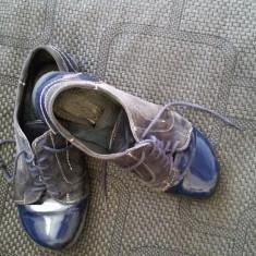 Pantofi casual bleumarin - Mocasini dama, Marime: 36