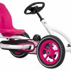 Kart cu pedale Buddy White Berg Toys