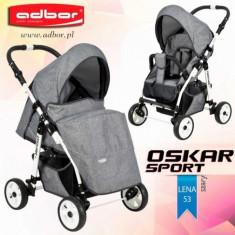 Carucior sport Oskar Sport lena 53 (Grey Jeans) Adbor - Carucior copii Sport