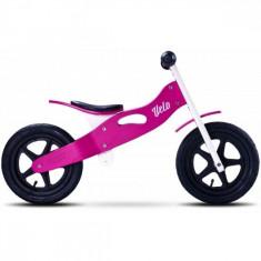 Bicicleta de lemn Velo Purple Toyz - Bicicleta copii