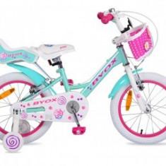 Bicicleta Copii Byox 16 Cupcake6-9 ani