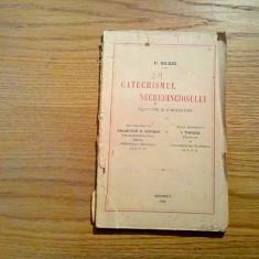 CATECHISMUL NECREDINCIOSULUI - P. Nilkes - 1926, 192 p. - Carti bisericesti