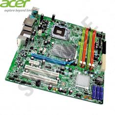 Placa de baza Acer MG43M 4 x DDR3 LGA775 6 x SATA2 PCI-Express DVI VGA GARANTIE!, Pentru INTEL, MicroATX