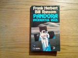 PANDORA  * INCIDENTUL IISUS - Frank Herbert, Bill Ranson - Nemira, 1995, 435 p.