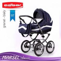 Carucior 3 in 1 Marsel Classic 97 (Bleumarin) Adbor - Carucior copii 3 in 1