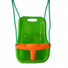Leagan bebe Baby Swing Seat Apple Green Soulet, Plastic