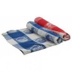 Stergare de bucatarie cu mere 50x70cm rosu/albastru